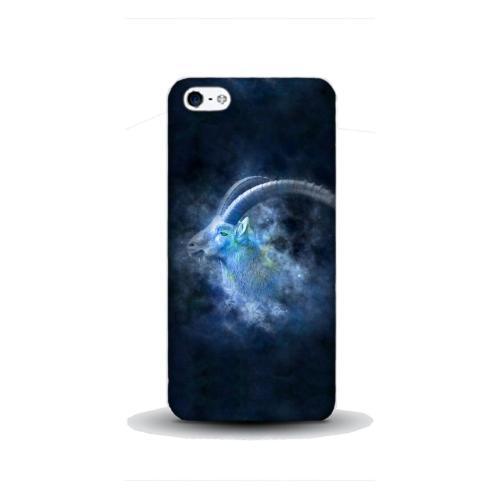 Szilikon mobiltok - Horoszkóp, Bak mintás - APPLE IPhone SE