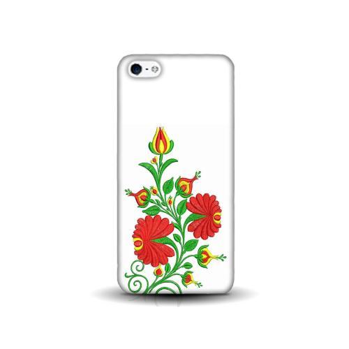 Szilikon mobiltok - Kalocsai hímzés mintás - APPLE IPhone SE