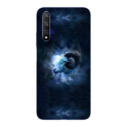 Szilikon mobiltok - Horoszkóp, Kos mintás - HUAWEI nova 5T