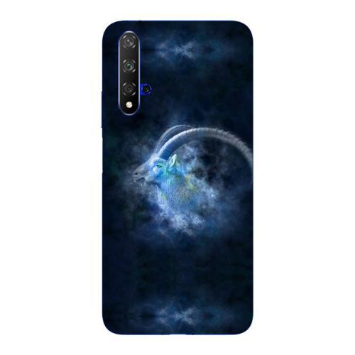 Szilikon mobiltok - Horoszkóp, Bak mintás - HUAWEI nova 5T