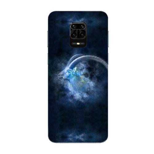 Szilikon mobiltok - Horoszkóp, Bak mintás - Xiaomi Redmi Note 9 Pro Max