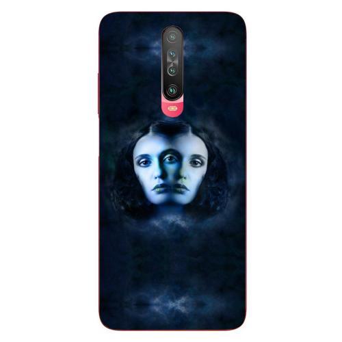 Szilikon mobiltok - Horoszkóp, Ikrek mintás - Xiaomi Poco X2