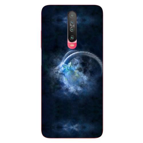 Szilikon mobiltok - Horoszkóp, Bak mintás - Xiaomi Poco X2