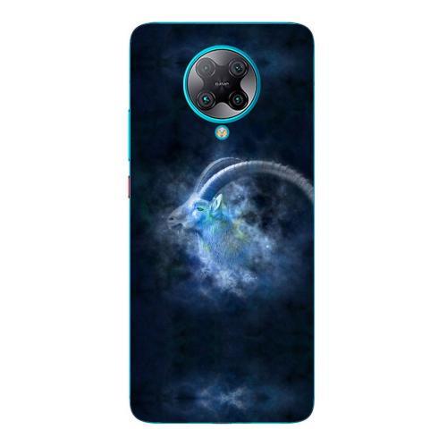 Szilikon mobiltok - Horoszkóp, Bak mintás - Xiaomi Poco F2 Pro