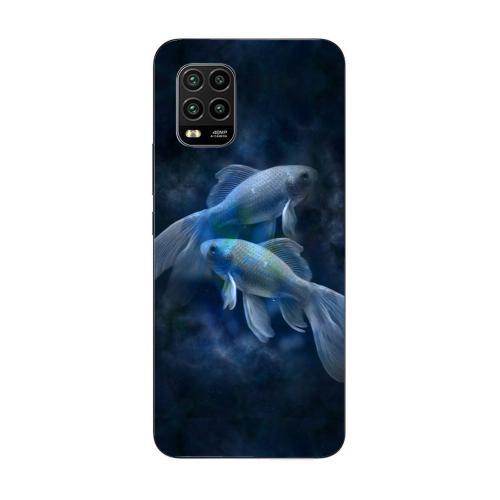 Szilikon mobiltok - Horoszkóp, Halak mintás - Xiaomi Mi 10 Youth 5G