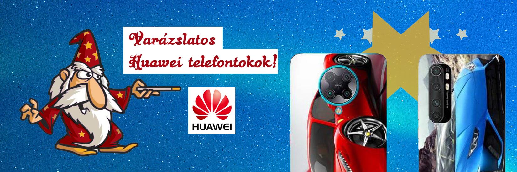 Huawei egyedi tokok a tokvarázsló választékban!